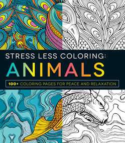Stress Less Coloring-Animals