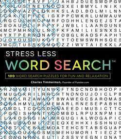 Stress Less Word Search