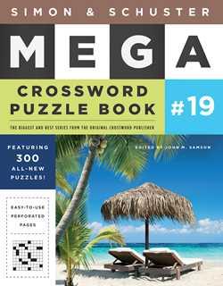 Mega Crossword Puzzle Book #19